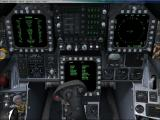 Microsoft Flight Simulator X: Acceleration Windows The instrument panel of the Boeing F/A-18A Hornet