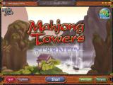 Mahjong Towers Eternity Windows The game's main menu screen