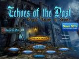 Echoes of the Past: Royal House of Stone iPad Title / main menu