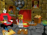 LEGO Chess Windows Main menu... or rather, the King's Throne Room