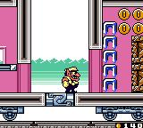 Wario Land II Game Boy Color On a train