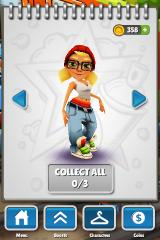 Subway Surfers iPhone Other characters can be unlocked later