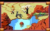 Conquests of Camelot: The Search for the Grail DOS Arthur's mule knows better this water isn't safe to drink