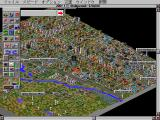 SimCity 2000 FM Towns A monster is attacking Hollywood!