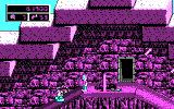 Commander Keen 4: Secret of the Oracle DOS Tip of the pyramid (CGA)