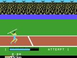 The Activision Decathlon ColecoVision The javelin