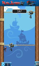 NinJump Deluxe Android The pirate level has pirates (yes, really)...