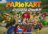 Mario Kart: Double Dash!! GameCube More title screen stuff.