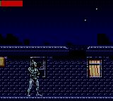 RoboCop Versus the Terminator Game Gear Robocop ready