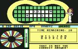 Wheel of Fortune Commodore 64 Wrong answer
