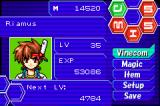 DemiKids: Light Version Game Boy Advance Your stat screen