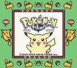 Pokémon Yellow Version: Special Pikachu Edition Game Boy Title screen (SGB)