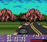 V-Rally Championship Edition Game Boy Color Overtaking opponent
