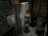 Resident Evil 3: Nemesis PlayStation Close up of Jill standing outside a door