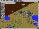 SimCity 2000 DOS New city begins own life