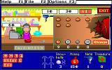Treasure MathStorm! DOS In the store buying items (MCGA/VGA)
