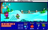 Treasure MathStorm! DOS There is a pile of snowballs here (MCGA/VGA)