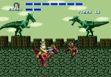 Golden Axe Genesis I'm on a Dragon.