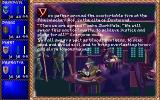 Darklands DOS Game start - the companions meet at a local inn and vow brotherhood.
