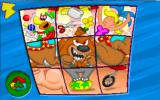 Putt-Putt and Fatty Bear's Activity Pack Windows Circus Puzzle Blocks game