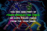 Saban's Power Rangers: Time Force Game Boy Advance Game REALLY starts.