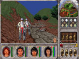 Might and Magic VI: The Mandate of Heaven Windows Look, just admit you have no chance. I just killed eight old guys looking just like you, what's two more to me?