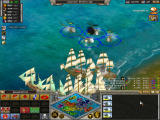Rise of Nations Windows Helicopters against frigates