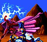 X-Men Game Gear Game Over