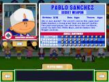 Backyard Baseball 2001 Windows Meet the players.