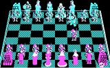 Battle Chess DOS A new game begins. (CGA)
