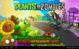 Plants vs. Zombies Android Title screen (v. 6.0.1)