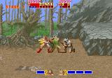 Golden Axe Arcade Gilius Thunderhead and his axe.