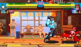 Marvel vs. Capcom: Clash of Super Heroes Arcade WarMachine chases MegaMan