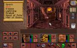 Lands of Lore: The Throne of Chaos DOS Somewhere deep in Scotia's castle; this is the room where king Richard was held
