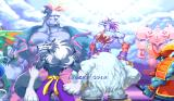 Darkstalkers: The Night Warriors Arcade Scene from the introduction