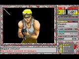 Cobra Mission DOS A late-game commando enemy attacks! Are you sure this pipe will work?..