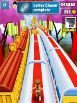 Subway Surfers iPad I've normally had the Letter Chaser award including the Super Mystery Box completed.