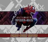 Ultimate Spider-Man PlayStation 2 Title screen.
