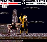 Mortal Kombat Game Gear Johnny cage finishing move part 1 gathering strength