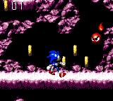 Sonic Blast Game Gear Time your attack as the flame spins round this beast