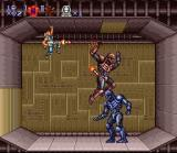 Contra III: The Alien Wars SNES Level 3 has many bosses!