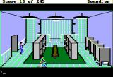 Police Quest: In Pursuit of the Death Angel Apple II Bathroom.