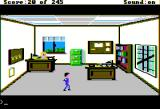 Police Quest: In Pursuit of the Death Angel Apple II Homicide office.
