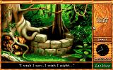 Maupiti Island DOS The well - this is the scenery which made me think: wow, I have to try such a beautiful game...