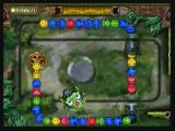 Zuma's Revenge! Zeebo Letting the balls reach the Skull Pit makes you lose the level.
