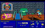 Super Solvers: Treasure Mountain! DOS Place treasures you collect in the treasure chest (MCGA)