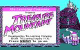 Super Solvers: Treasure Mountain! DOS Title screen (CGA)