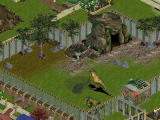 Zoo Tycoon: Dinosaur Digs Windows Here the Tyrannosaurus Rex is being tranquilised from a helicopter