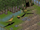 Zoo Tycoon: Dinosaur Digs Windows Nature red in tooth and claw. Here the Tyrannosaurus Rex are having a bison round for lunch