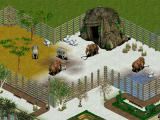 Zoo Tycoon: Dinosaur Digs Windows Here we have elephants and mammoth. Isn't it clever how one half of the compound is freezing to keep the mammoth happy while the other half is warm for the elephants